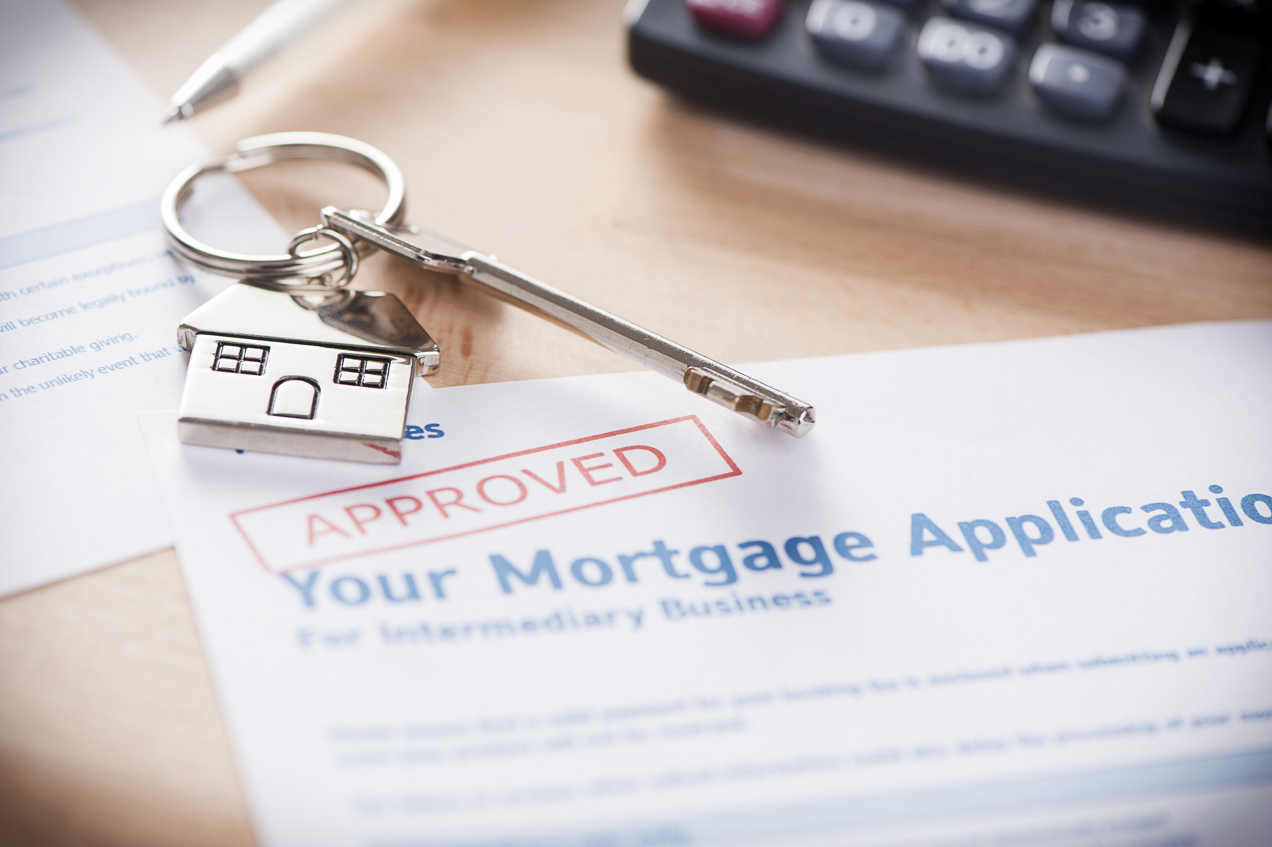 mortgage approval contract